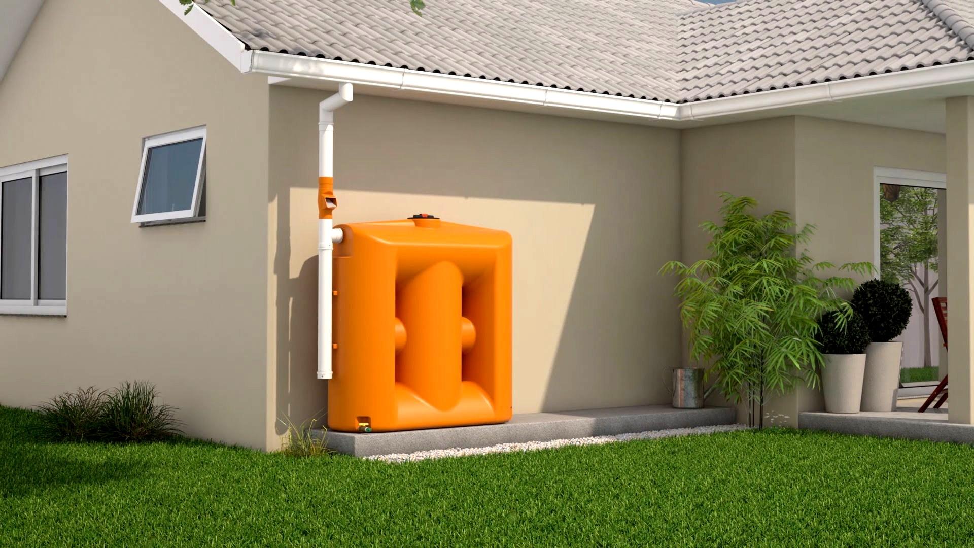 Cisternas – Uma forma consciente de reaproveitar a água