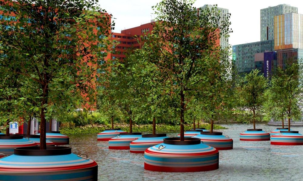 Holanda terá floresta flutuante feita de material reciclado