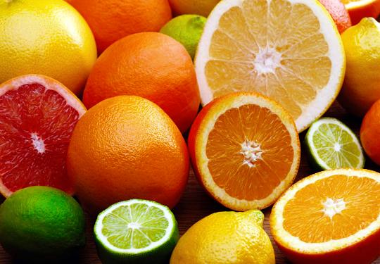 frutificação de citros