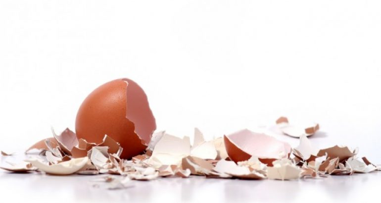 como preparar farinha de ovos