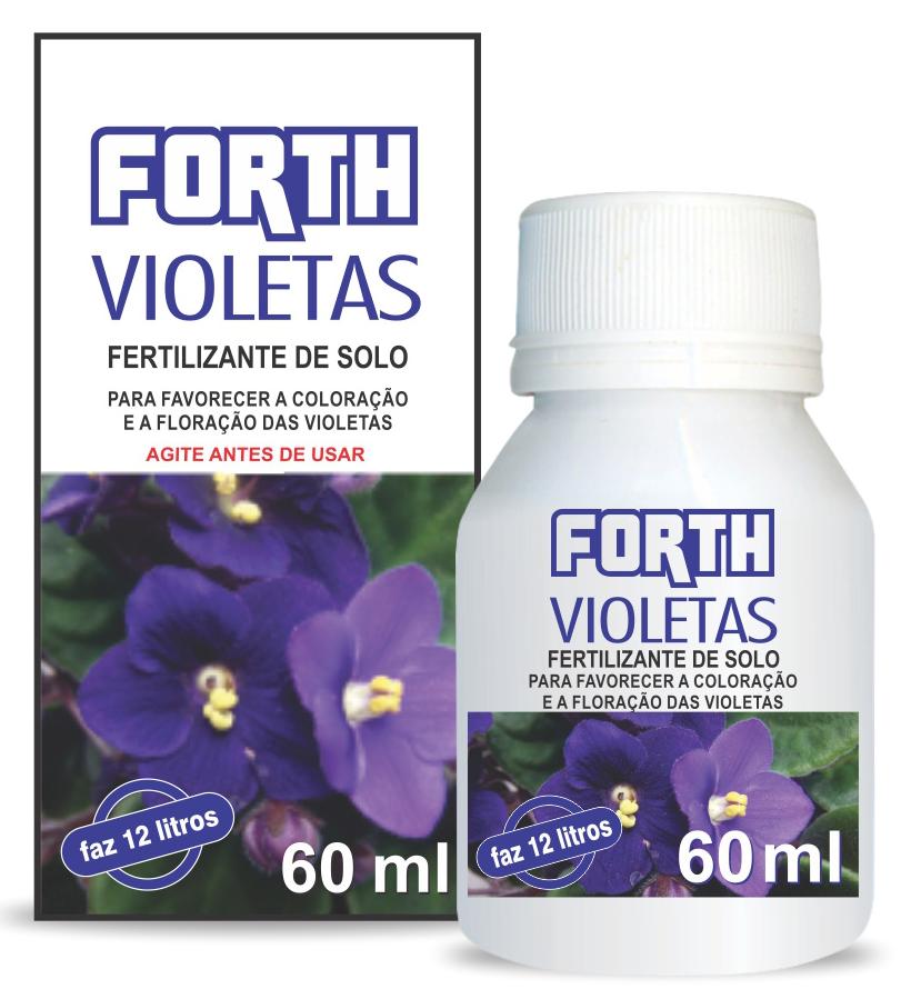 forth para violetas