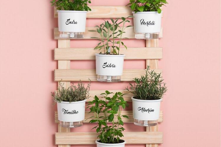 horta caseira vertical